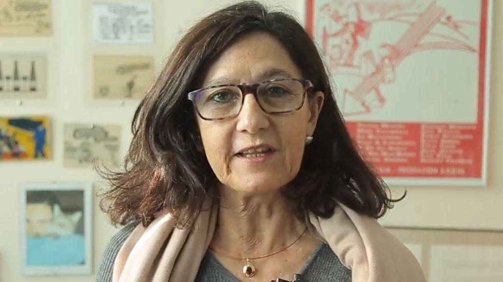 Carmen Gallardo, la pareja de Ángel Gabilondo