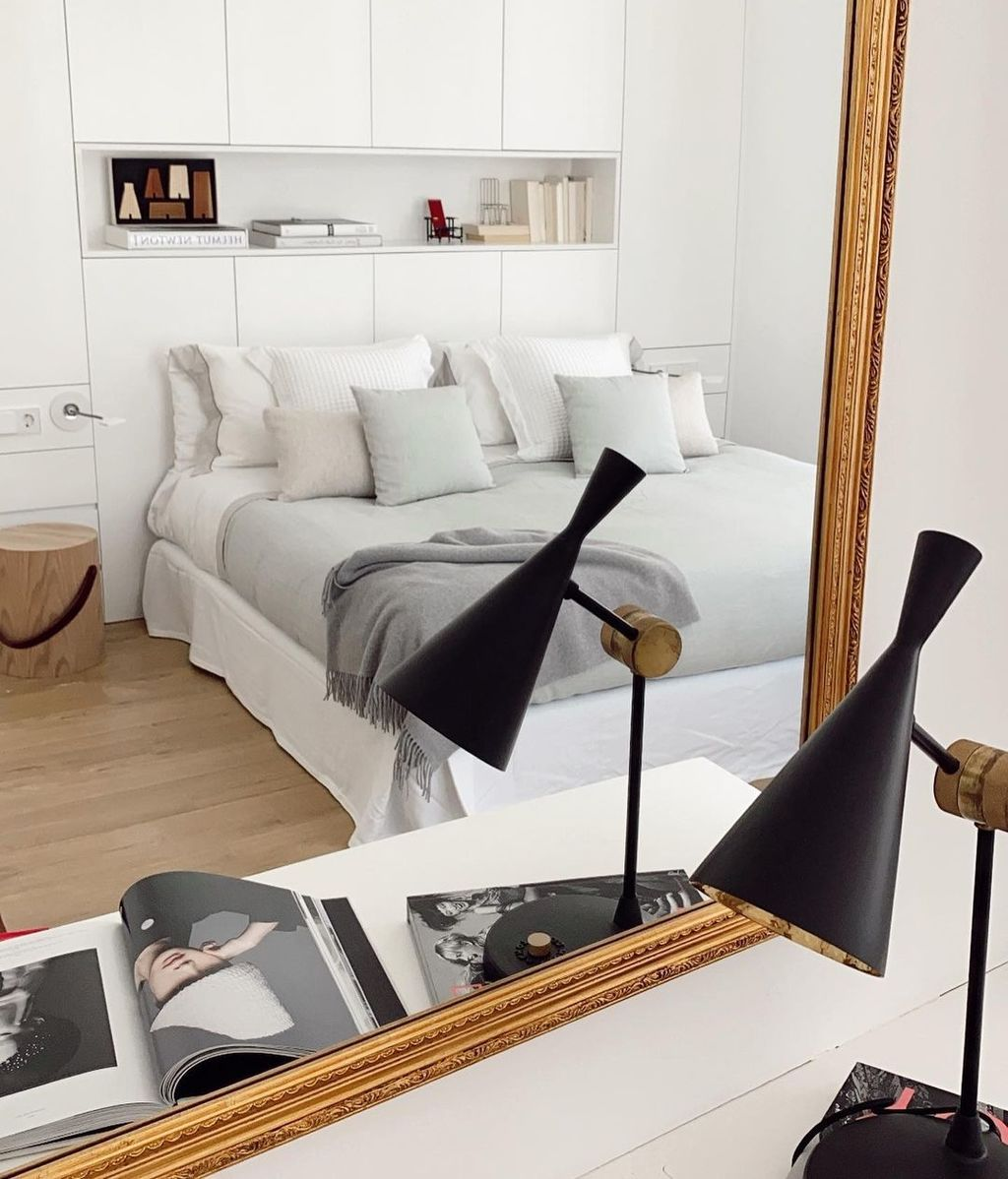 El dormitorio de la nueva casa de Marta Lozano