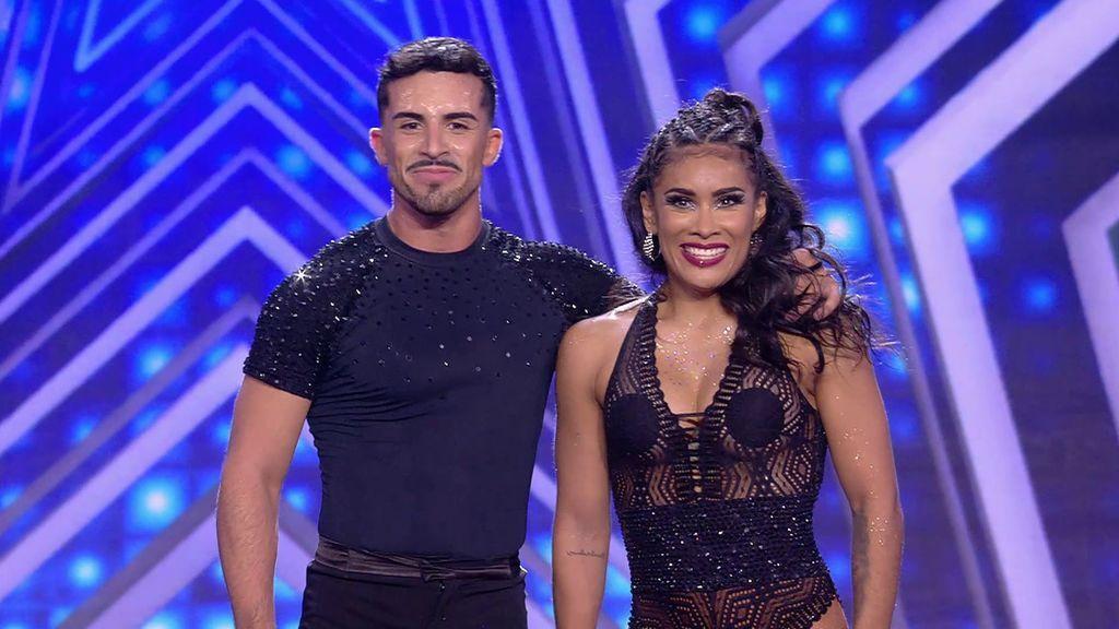 La actuación de Stefanny y Michael en la final de 'Got Talent'