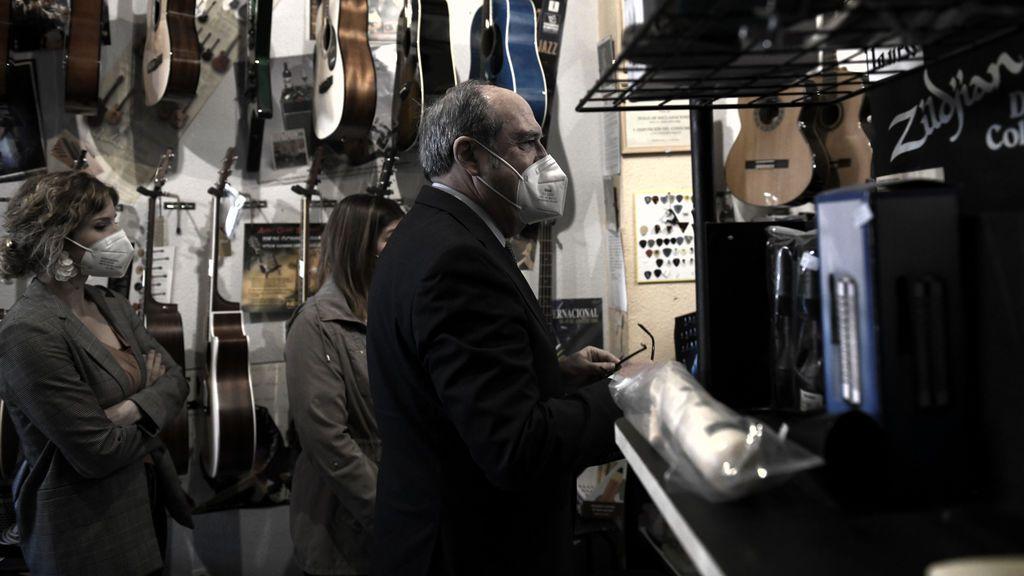 Ángel Gabilondo es un gran aficionado a la música