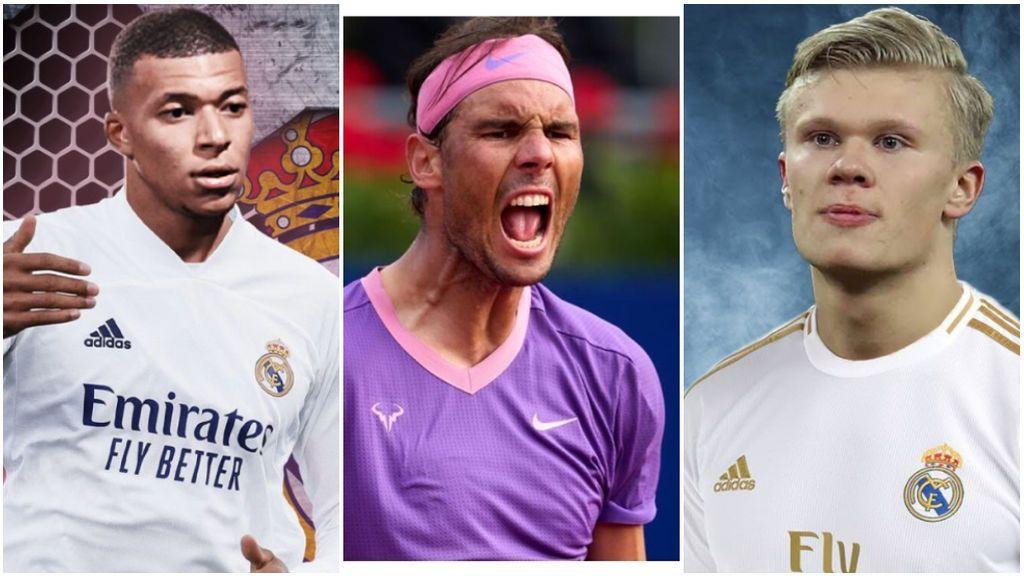 Rafa Nadal se moja sobre Mbappé o Haaland: ¿a quién ficharía para el Real Madrid?