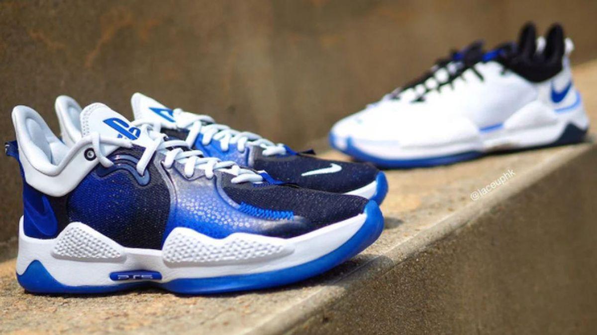 Las zapatillas 'gamers' de Nike y Sony inspiradas en la PlayStation 5 llegarán en mayo