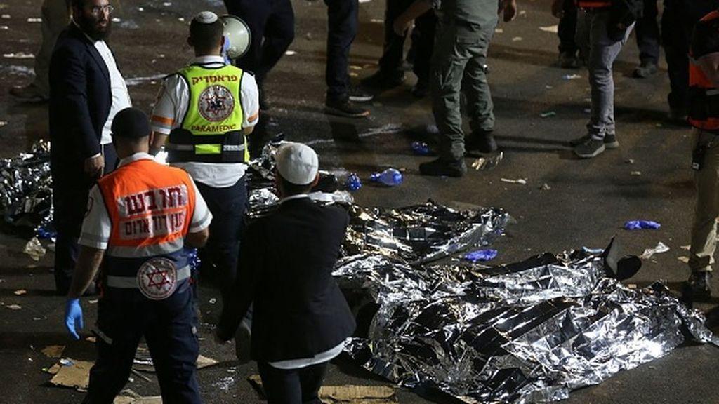 Decenas de muertos en una estampida humana en un festival religioso en Israel