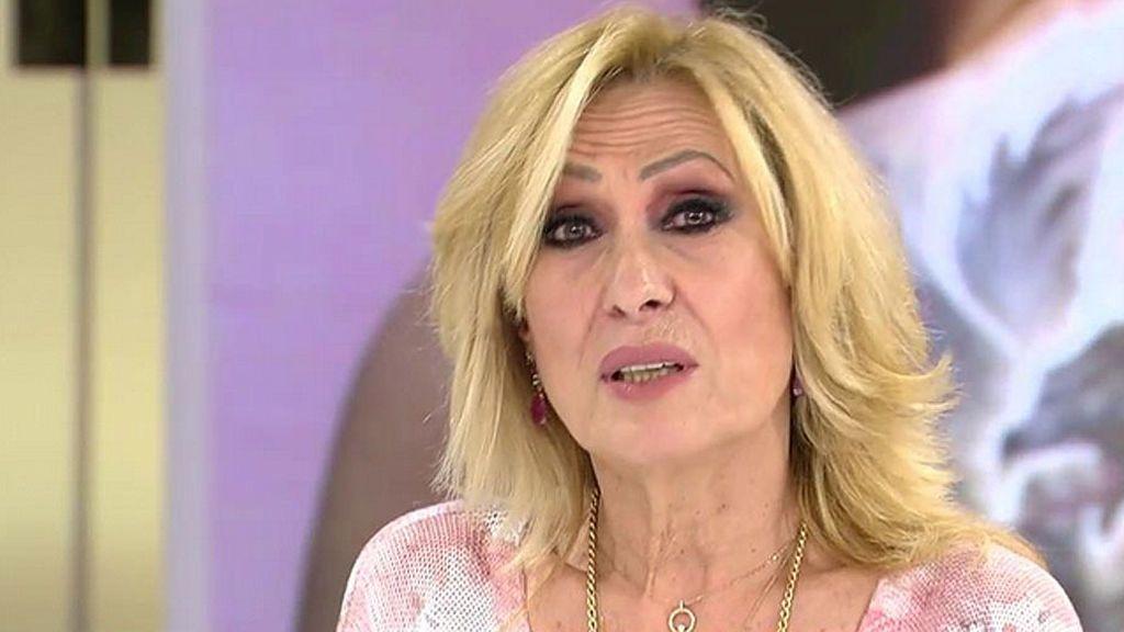 """Rosa Benito reacciona a los supuestos insultos que la dedicaba Rocío Flores al verla en televisión: """"Me lo creo porque yo he dicho cosas peores"""""""