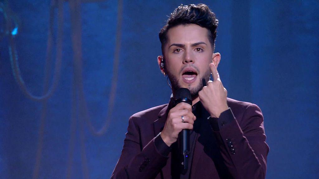 La actuación de Cristian Montilla en la final de Got Talent 2021