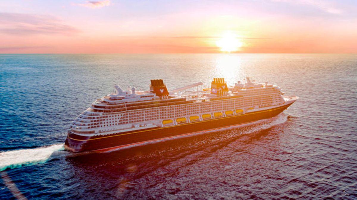 El crucero 'Disney Wish', el castillo de cuento de hadas flotante que soltará amarras en 2022
