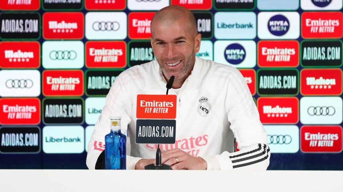 """Zidane cree en el doblete: """"Esto no es un milagro, es mucho trabajo y creer"""""""