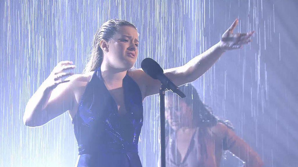 La actuación de Elsa en la final de 'Got Talent'