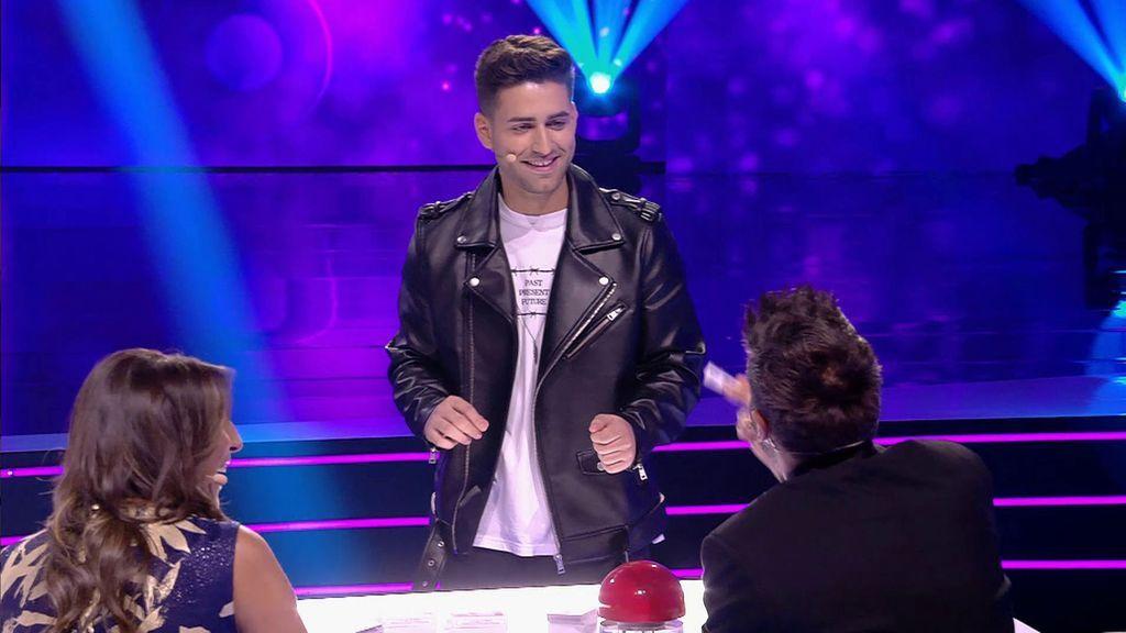 La actuación de Santi Marcilla en la final de 'Got Talent'