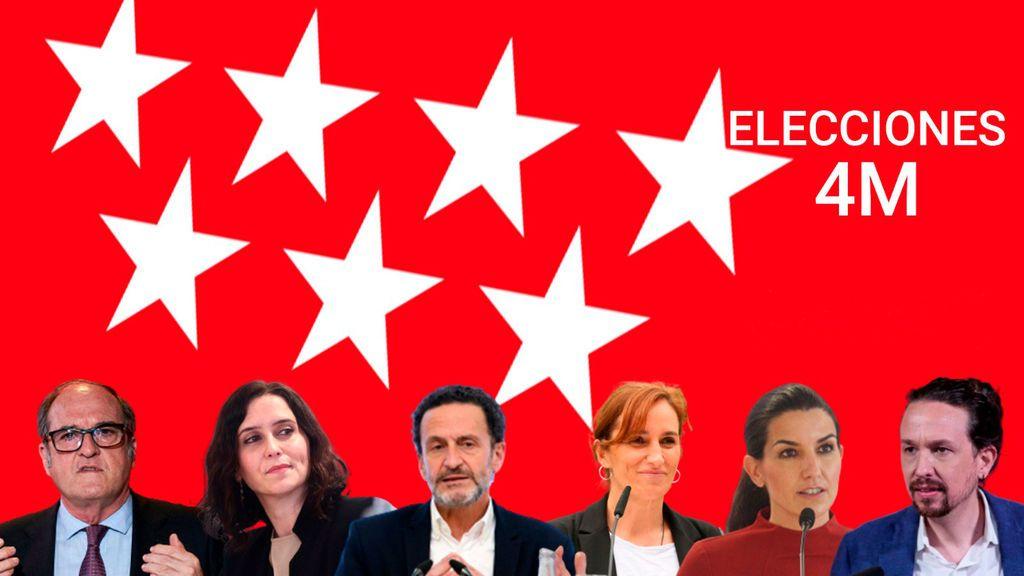 Test de las elecciones de Madrid: ponte a prueba