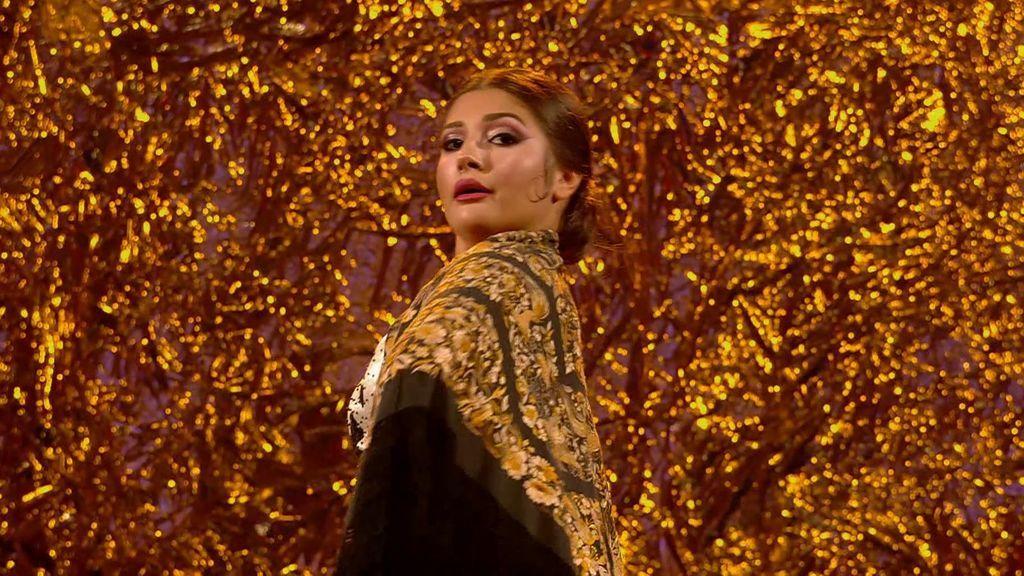 La actuación de María Cruz en la final de 'Got talent'