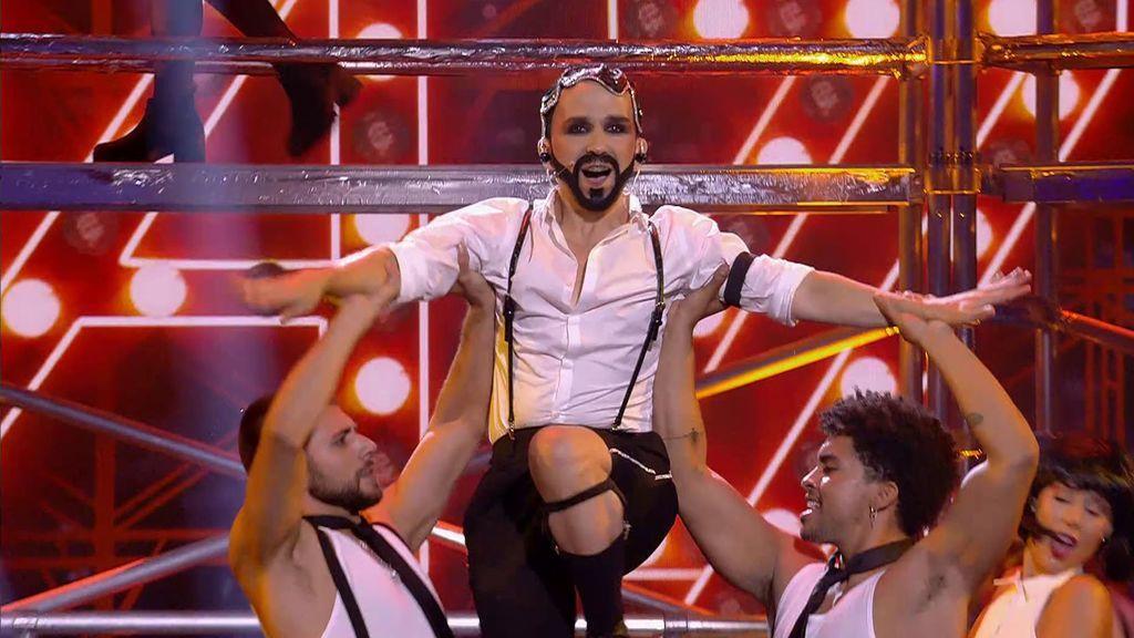 La actuación de Chus Serrano en la final de 'Got Talent'