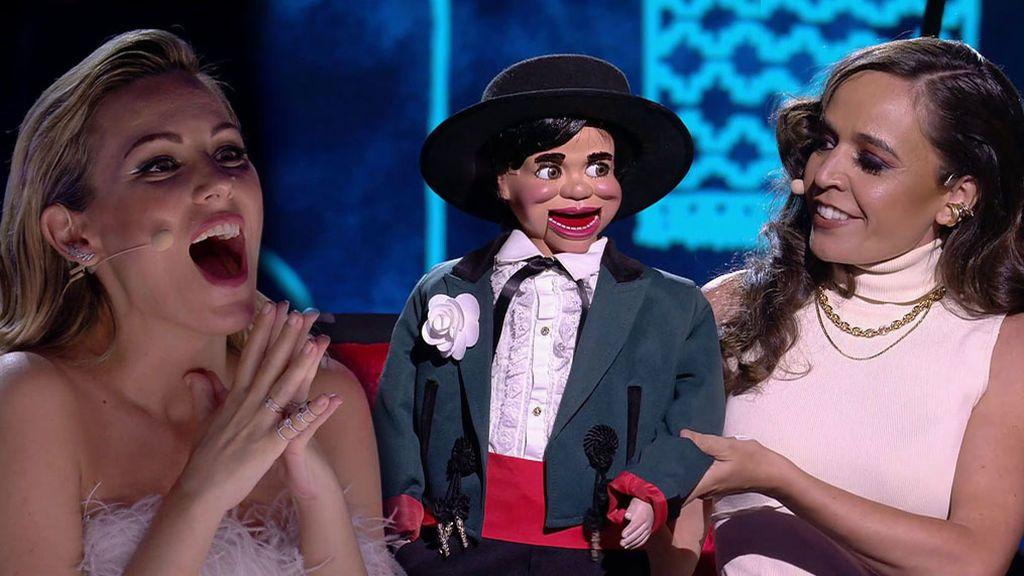 Celia impresiona a los miembros del jurado con su actuación para la final