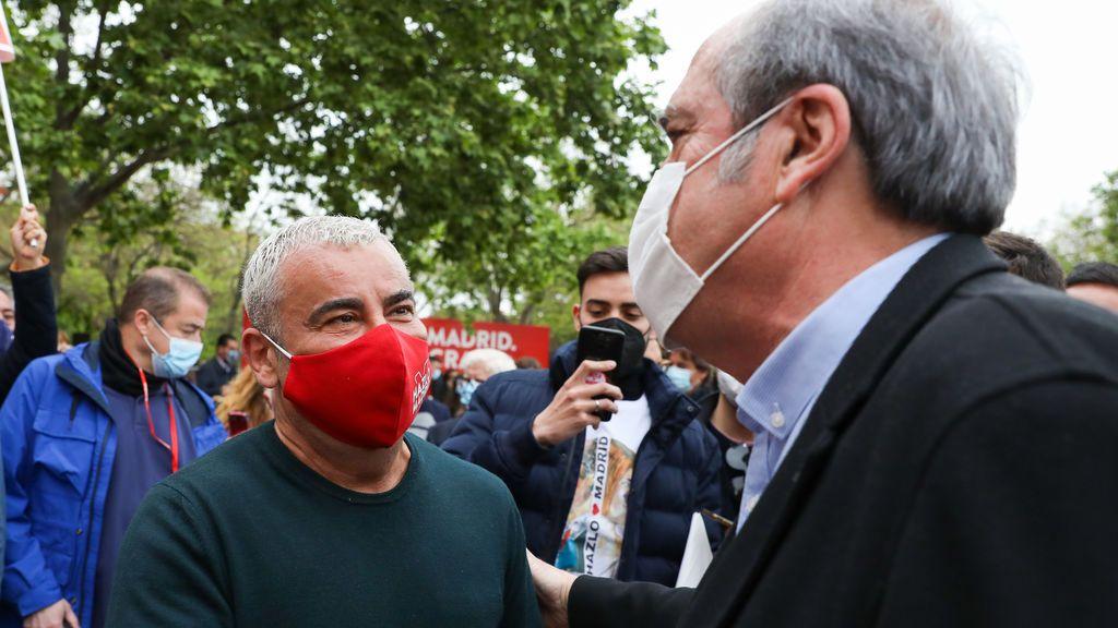 Jorge Javier Vázquez le ha mostrado su apoyo durante la campaña