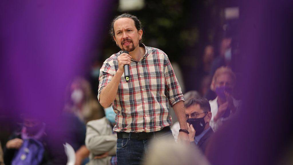 Iglesias admite que un detenido por pegar a la policía en el mitin de Vox en Vallecas está contratado por Podemos