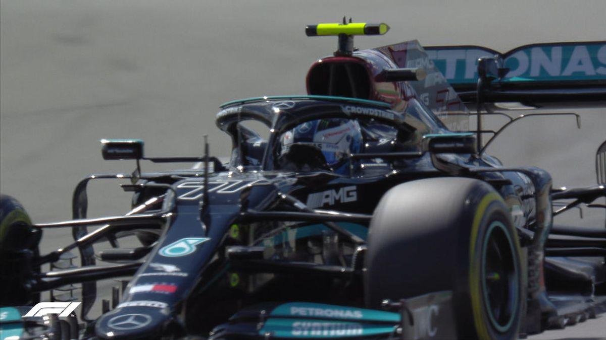 Bottas le quita la pole a Hamilton en Portimao: Sainz saldrá quinto y Alonso, decimotercero