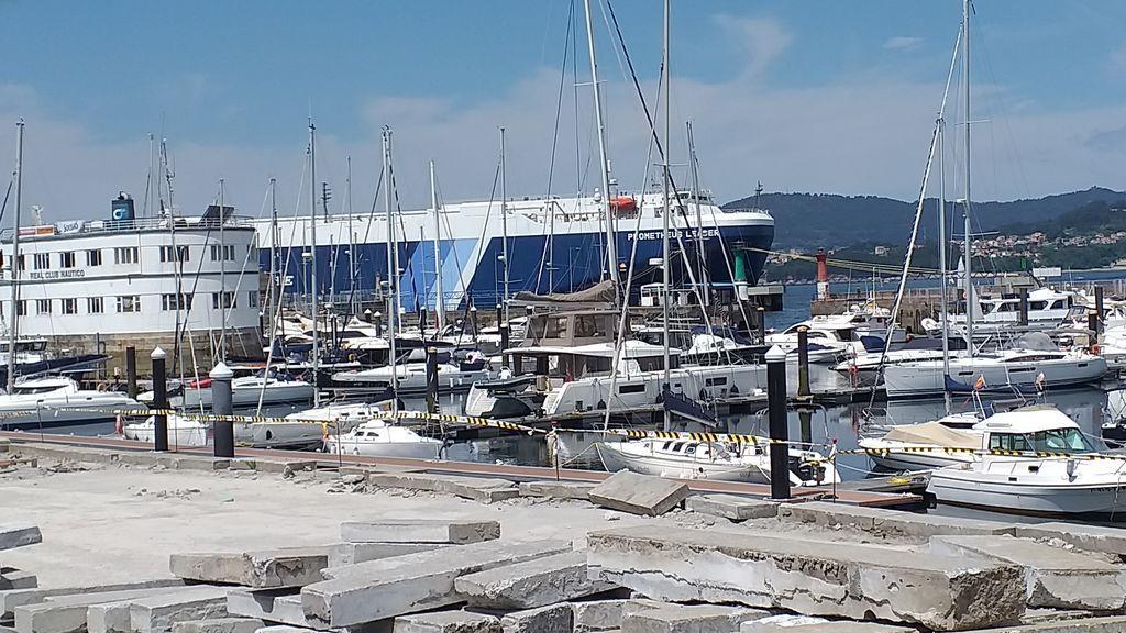 Confirman tres casos de la variante india entre los tripulantes de un barco aislado en Vigo