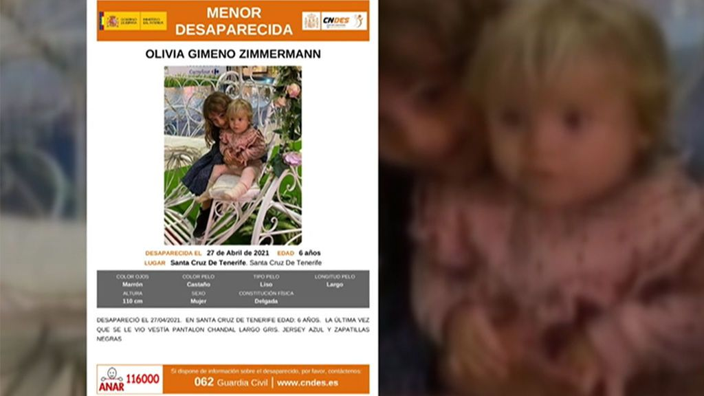Agentes de la UCO se unen a la búsqueda de Anna y Olivia en Tenerife: no se descarta ninguna hipótesis