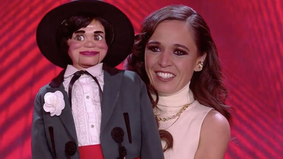 Celia Muñoz, la primera ventrílocua que gana 'Got Talent España'