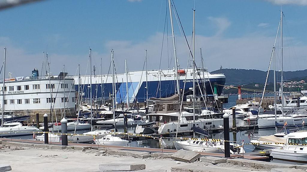 Confirman tres casos de la variante india entre los tripulantes de un barco atracado en Vigo