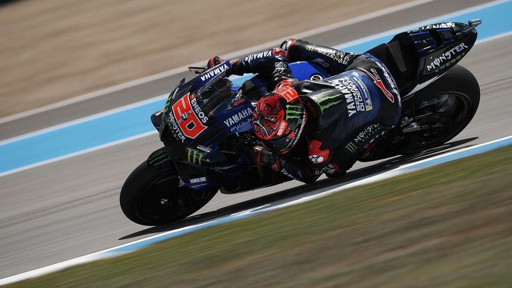 Quartararo sigue firme y se alza con la pole en Jerez: Marc Márquez saldrá decimocuarto tras dar el susto