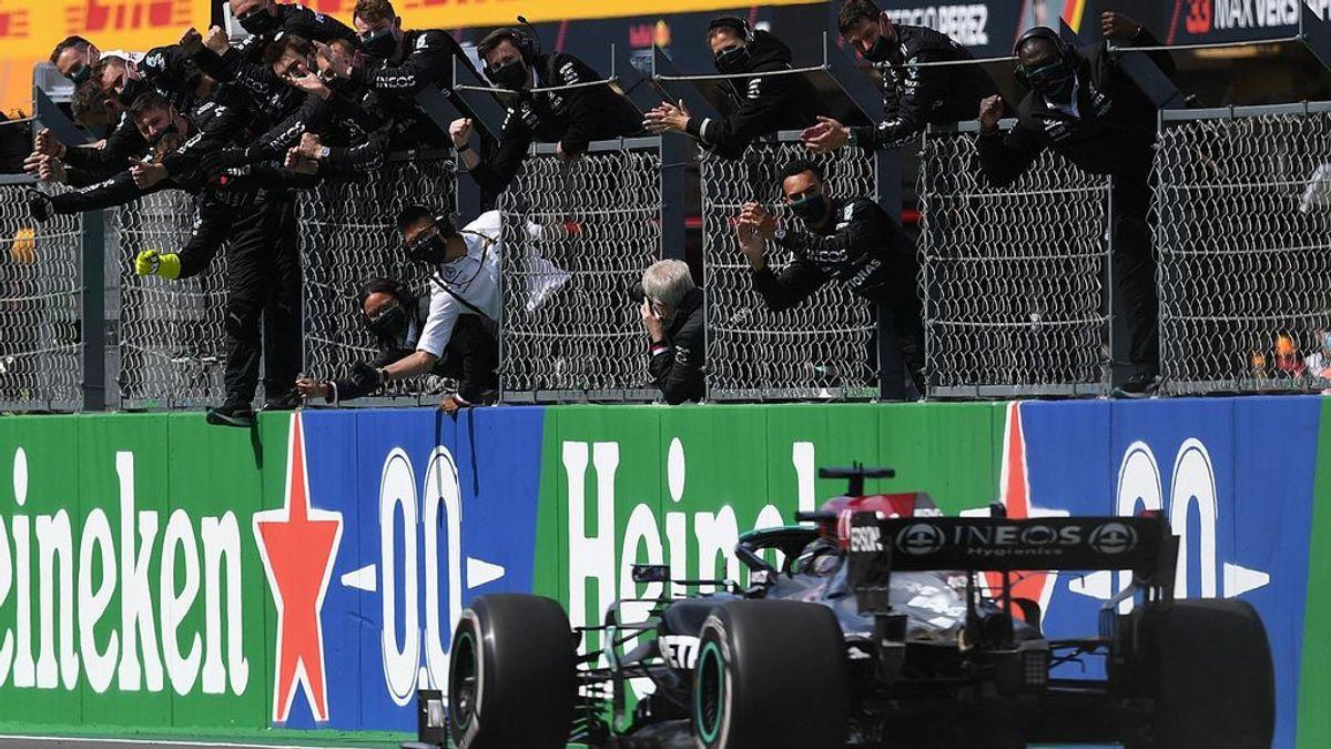 Hamilton lidera en Portugal, mientras que Alonso coge confianza con el octavo puesto: Sainz, undécimo, fuera de la zona de puntos