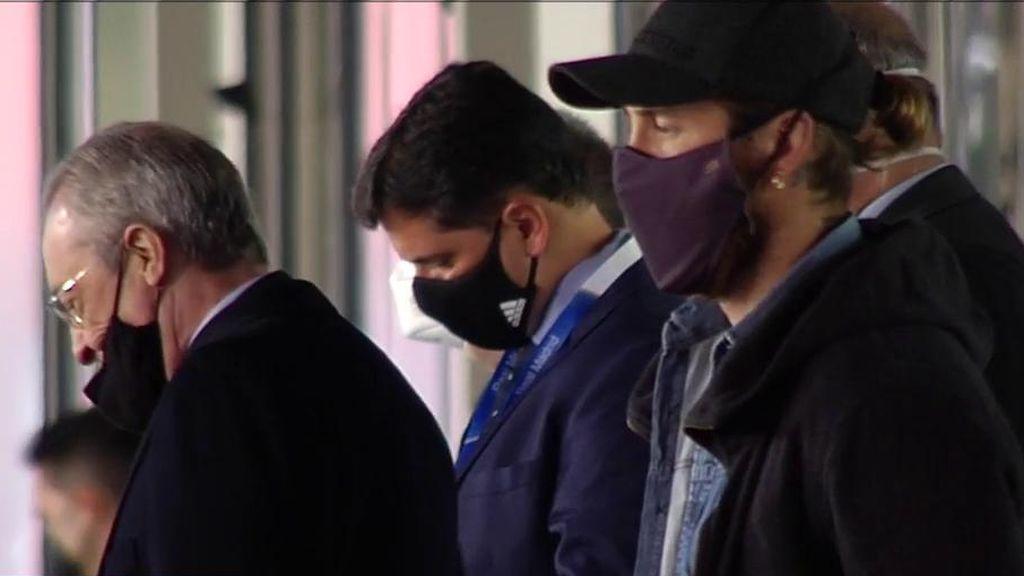 Sergio Ramos y Florentino Pérez, más fríos que nunca: su no saludo en el palco del Di Stefano