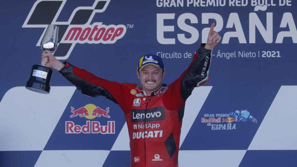 Miller desbanca a Quartararo en Jerez: Marc Márquez consiguió remontar hasta el noveno puesto