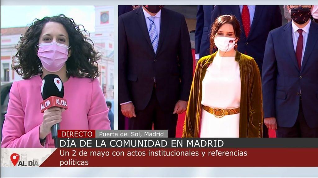 Los actos del 2 de mayo en Madrid, marcados por la campaña electoral que finaliza hoy