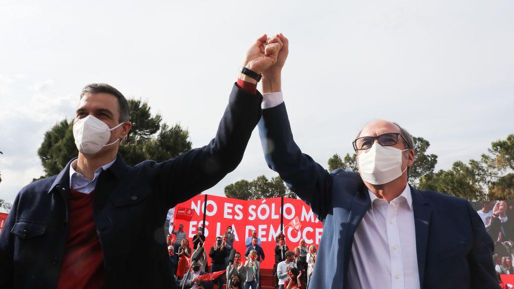 Sánchez arropa a Gabilondo en el cierre de campaña