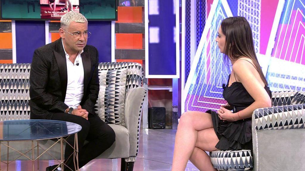 Jorge Javier Vázquez habla con Sandra Pica