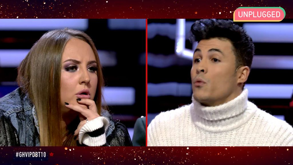 Rocío Flores y Kiko Jiménez en 'GH VIP'