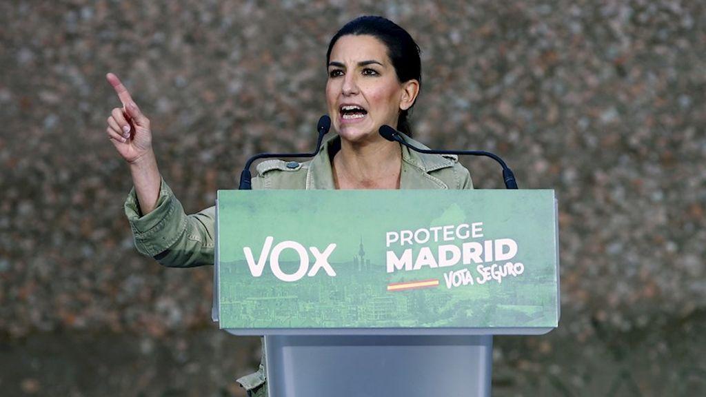 """Monasterio pide conseguir en estas elecciones que Iglesias """"se vaya a su casa"""" y apoyar al """"sentido común"""""""