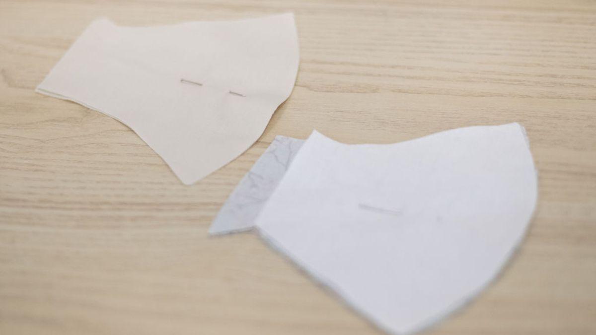 Las mascarillas de tela de tres capas son igual de eficaces que las quirúrgicas