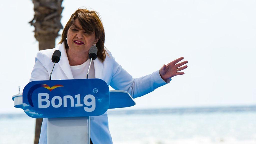 Génova prescinde de la presidenta del PP de Valencia, Isabel Bonig, que renuncia a su reelección