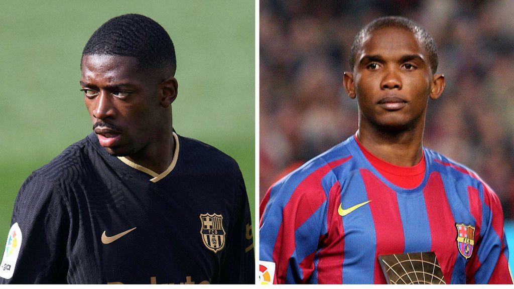 """Dembelé revela su mote dentro del vestuario del Barcelona: """"Me llaman Eto'o"""""""