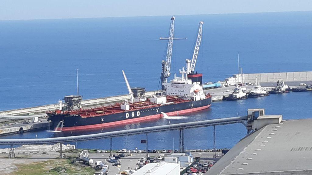 Confinado un buque en el Puerto de Bilbao tras ingresar dos tripulantes, de nacionalidad india, con Covid