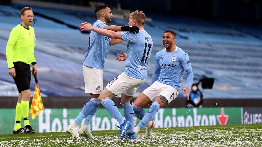 El Manchester City gana al PSG y se mete en la final de la Champions (2-0)