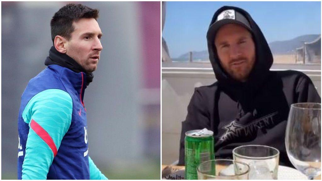 Los jugadores del Barcelona, expedientados por el asado en casa de Messi.