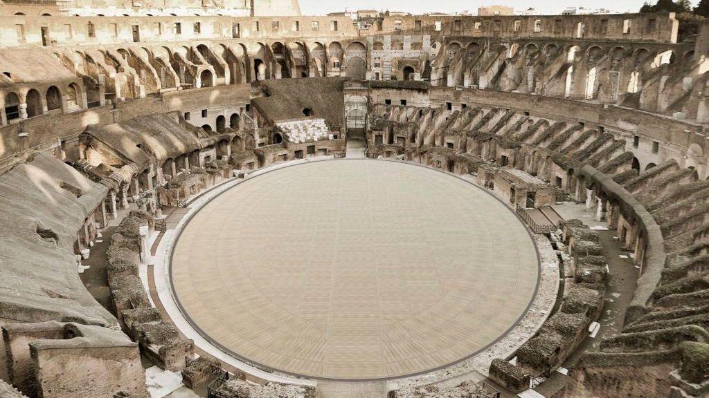 El nuevo suelo del Coliseo llegará en 2023