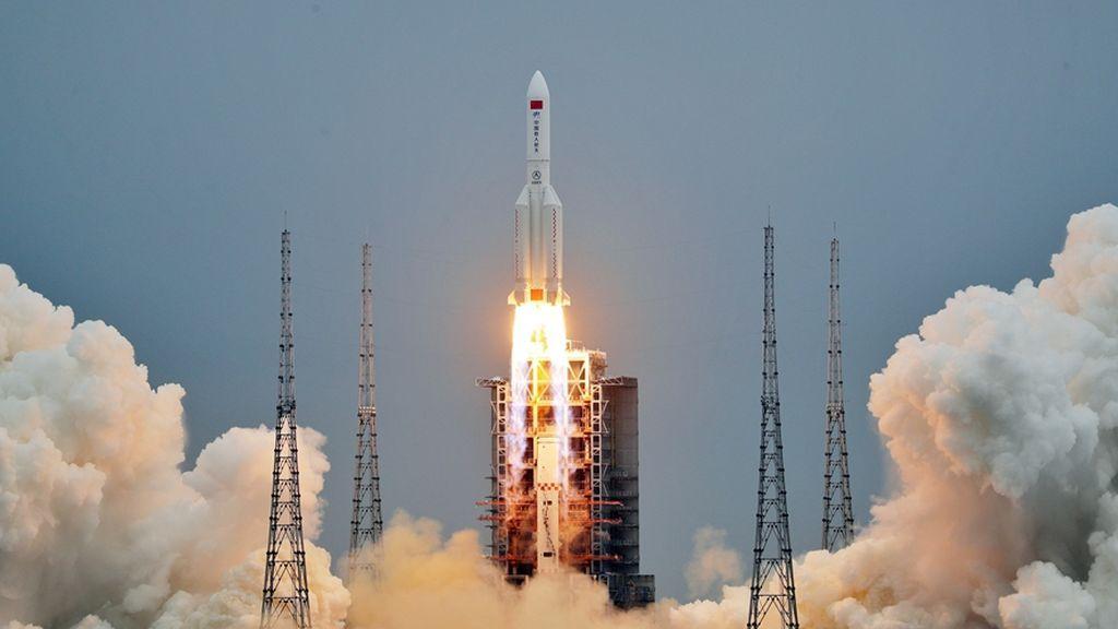 EuropaPress_3672224_lanzamiento_modulo_central_estacion_espacial_china