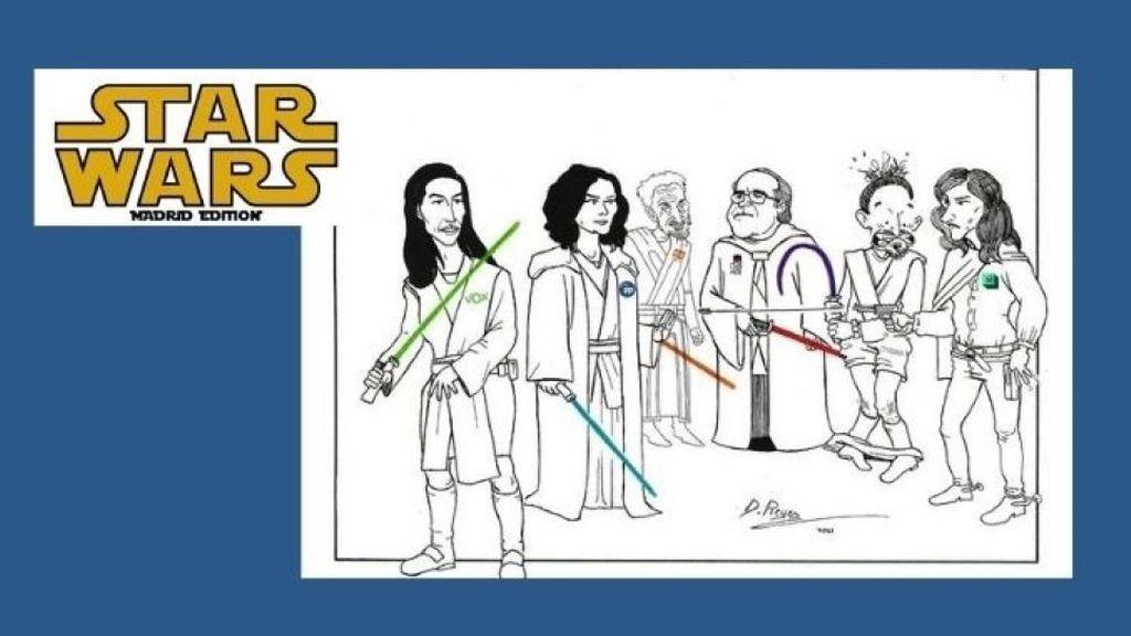 'Star Wars' acapara los mejores memes de las elecciones del 4-M en la Comunidad de Madrid
