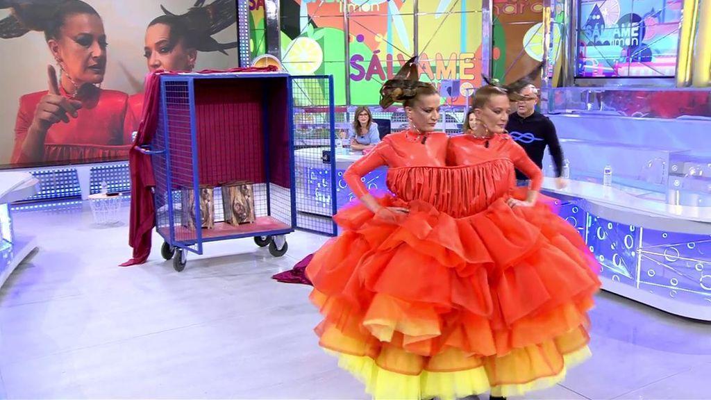 """'Sálvame' se renueva con la llegada de nuevos rostros: Las Mellis se convierten en la primera """"colaboradora bicéfala"""""""