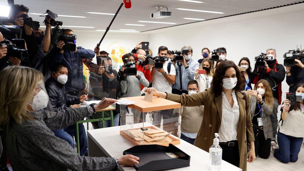 Escrutinio y resultado de las elecciones en Madrid