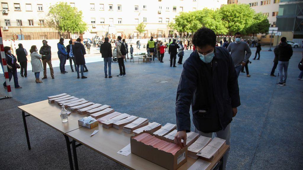 """Los colegios electorales más """"atípicos"""" de las elecciones de Madrid del 4 de mayo"""