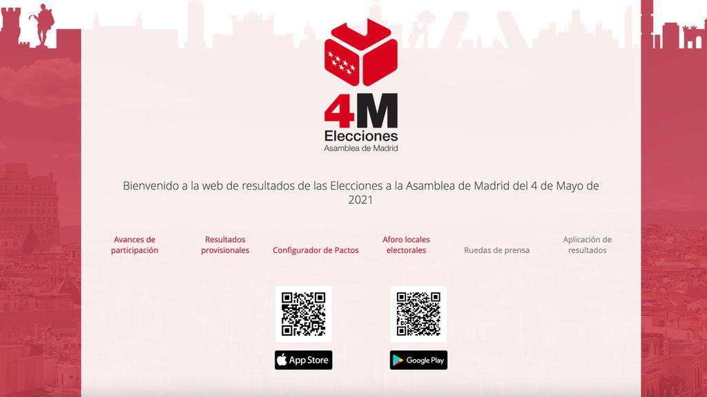 App para seguir las elecciones en Madrid: cómo descargarla y qué información ofrece