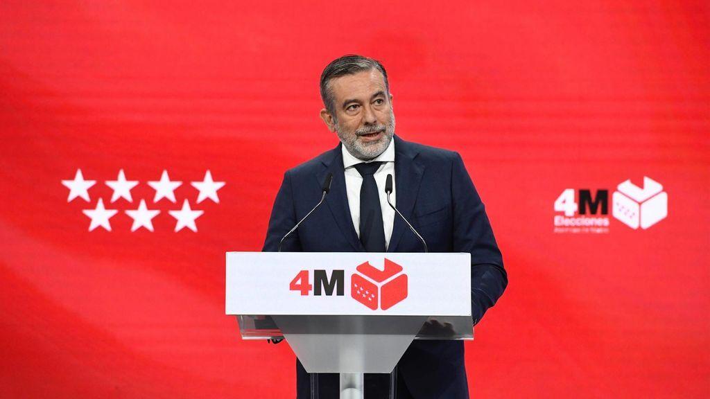 Consejero de justicia de la CAM, Enrique López, elecciones 4M