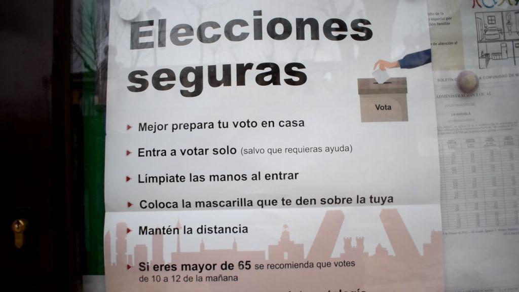 Elecciones autonómicas de Madrid en un pueblo de 60 habitantes