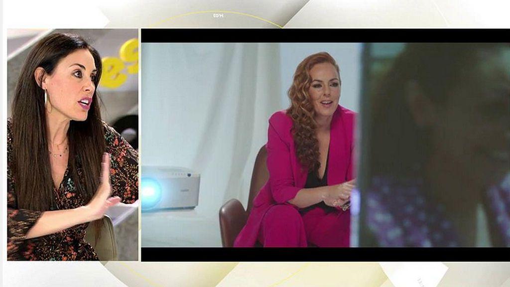 """Isabel Rábago, ante la versión de dos mujeres y el amor de unos niños: """"Olga Moreno 0 – Rocío Carrasco 1"""""""