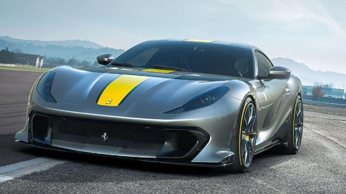 Así es el Ferrari 812 Competizione, una bestia con 830 cv que supera los 340 km/h